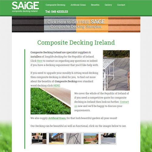 Composite Decking Ireland