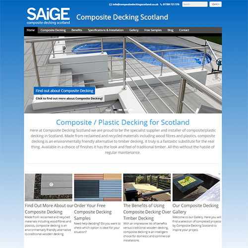 Composite Decking Scotland
